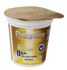 Prestige® Natural with no added sugar